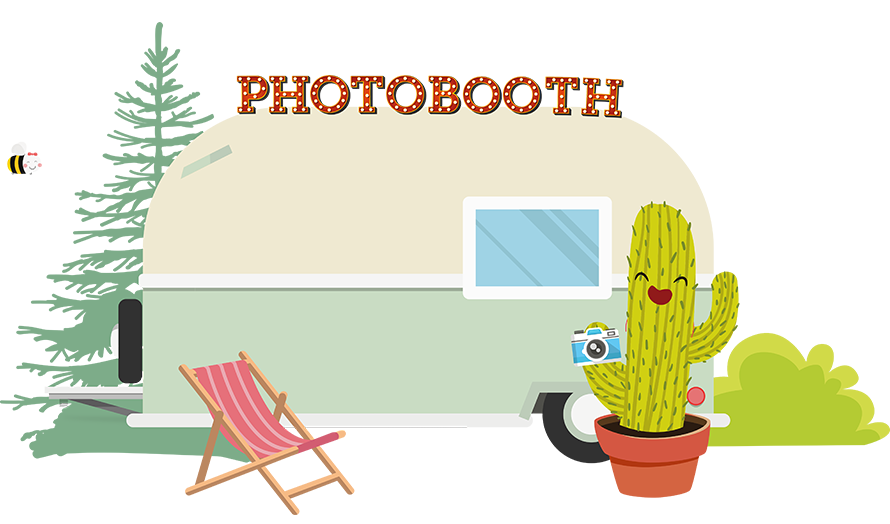 photobooth caravan Sleurhutje